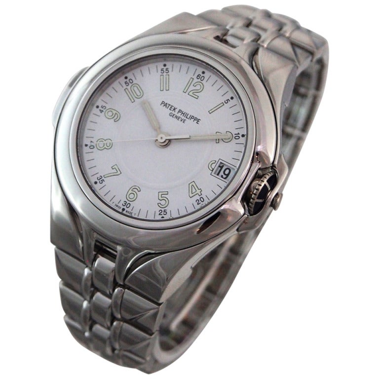 Часы patek philippe stainless steel back