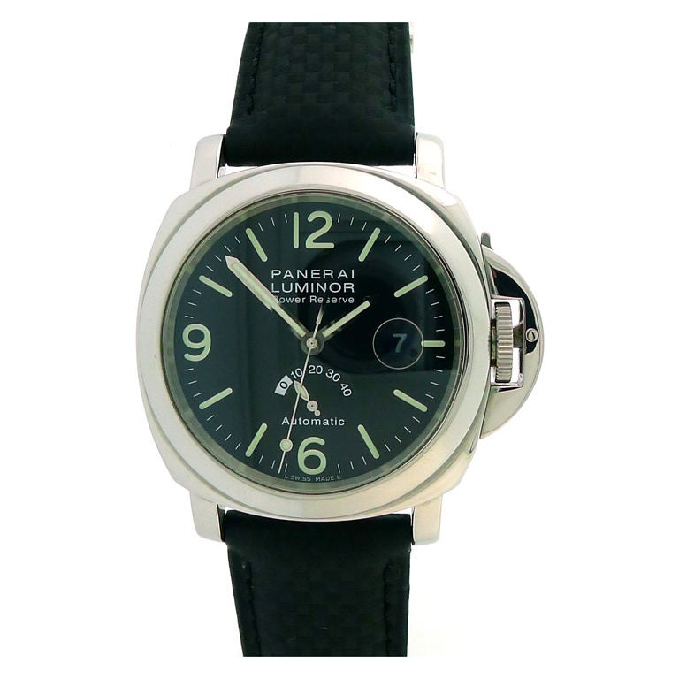 PANERAI PAM 27 C Luminor Marina Power Reserve at 1stdibs