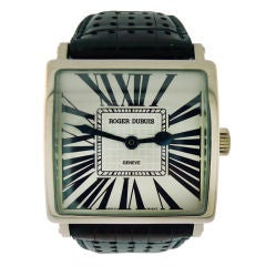 ROGER DUBUIS Golden Square White Gold Watch Limited to 28 Pieces
