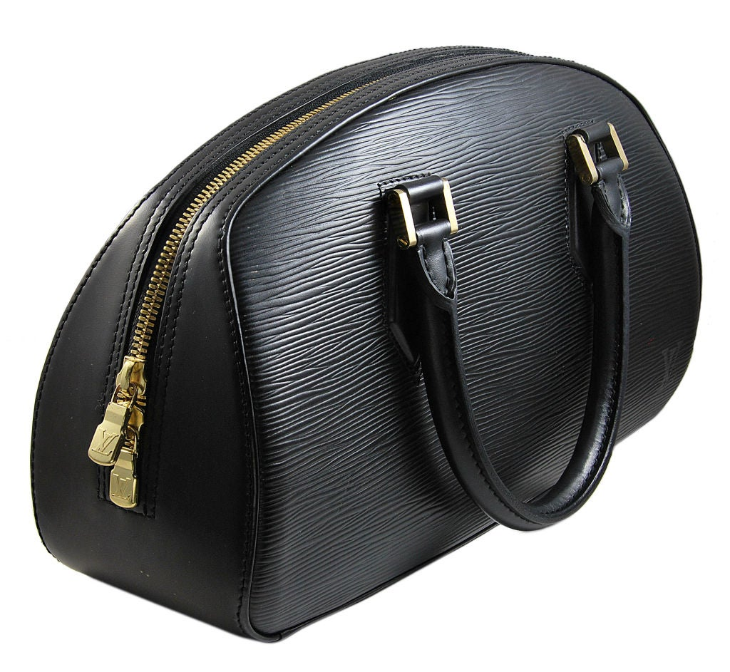 Louis Vuitton Black Epi Tote 2