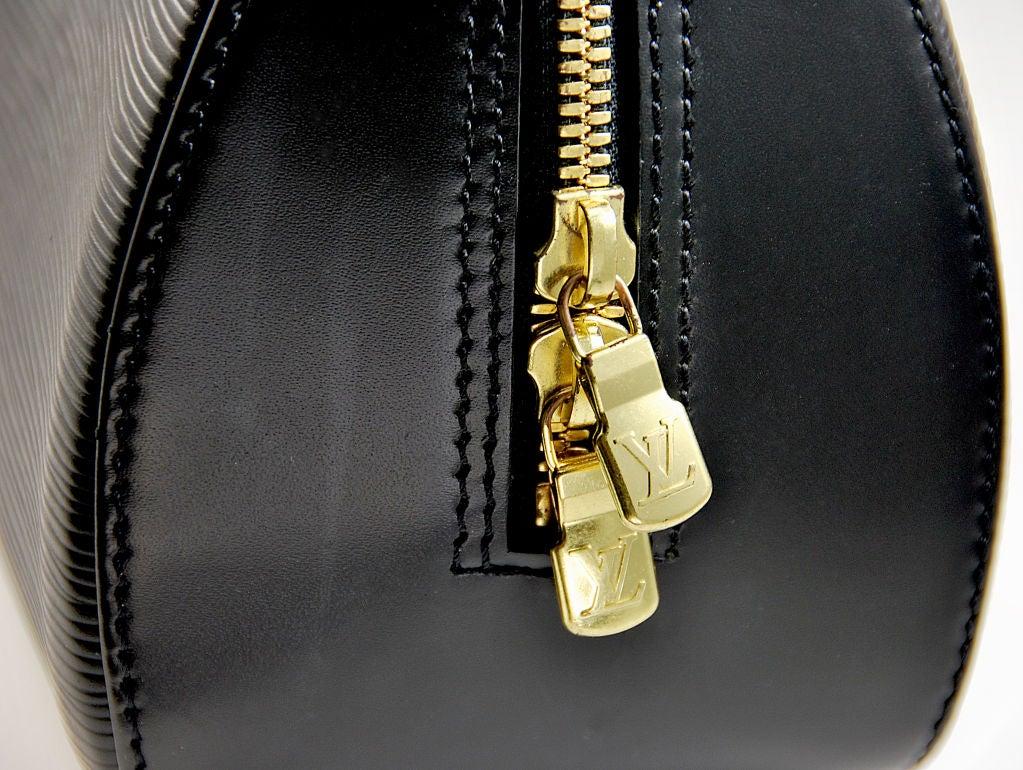 Louis Vuitton Black Epi Tote image 3