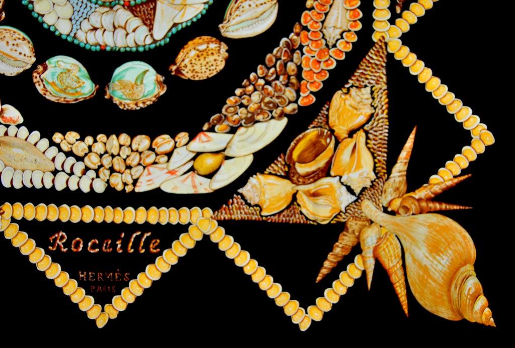 "HERMES ""Rocaille"" Sea Shells scarf 3"