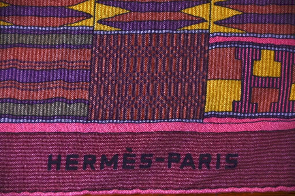 """HERMES Gorgeous 54"""" Shawl image 3"""