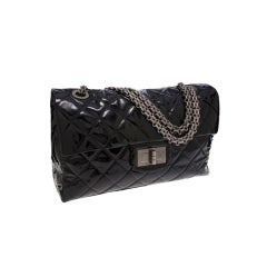 Chanel XXL 2.55 Flap Overnight Classic Bag