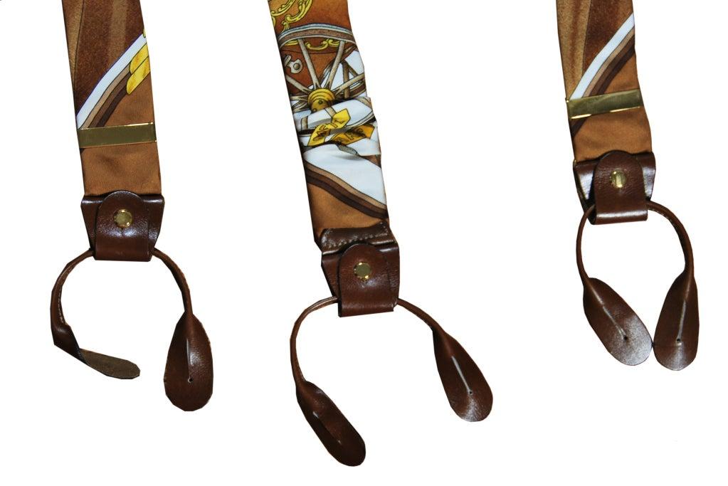 HERMES Vintage Suspenders image 3