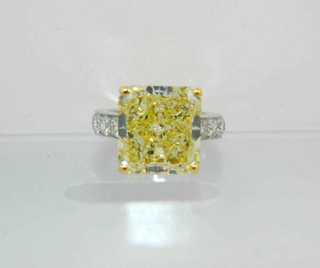 Graff Yellow Diamond Ring Price