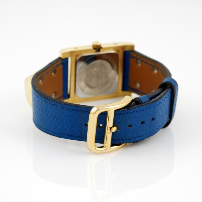 Hermes Gilt Medor Wristwatch with Concealed Dial image 3