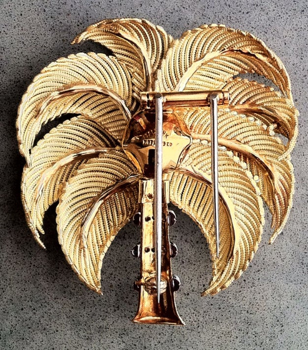 Tiffany & Co. Diamond Gold Palm Tree image 2
