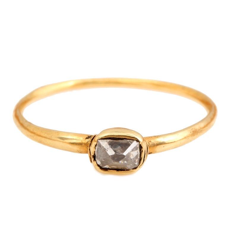 Th Century Gold Ring