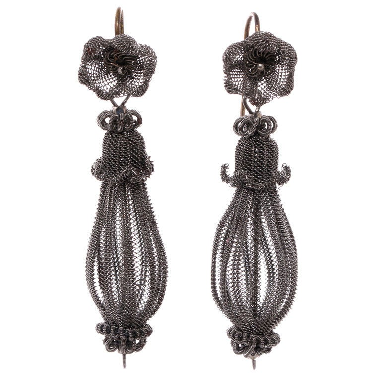Early 19th Century Prussian Silesian Iron Wire Work