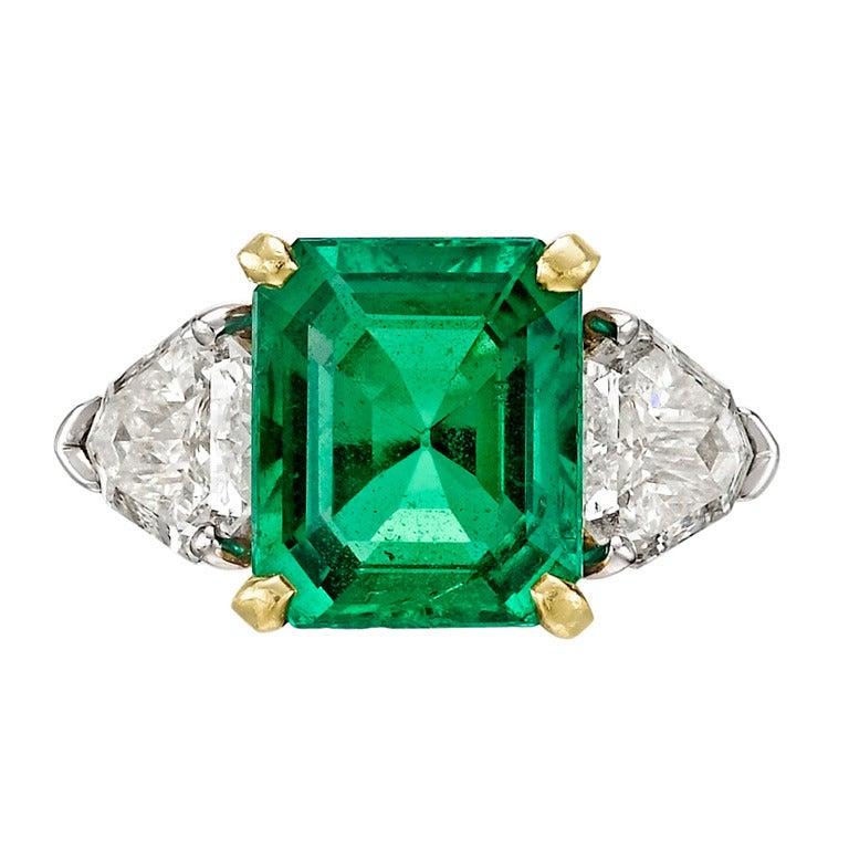 fred leighton 3 41 carat emerald ring at 1stdibs