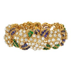 "VAN CLEEF & ARPELS ""Boule de Neige"" Gem-Set Bracelet"