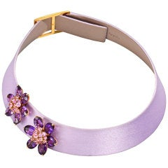 VAN CLEEF & ARPELS 'Hawaii' Amethyst Pink Sapphire Necklace