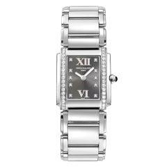PATEK PHILIPPE Ladies' Twenty-4 Steel & Diamonds Watch