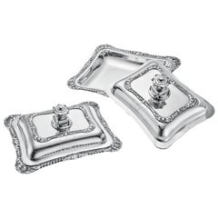 Georgian Silver Covered Vegetable Dishes