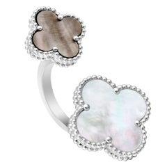 VAN CLEEF & ARPELS Magic Alhambra Between-the-Finger Ring