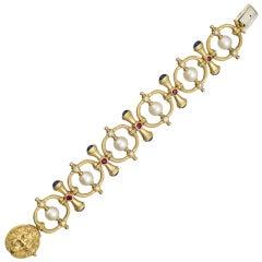 LANTUCH Gold & Gem-Set Bracelet