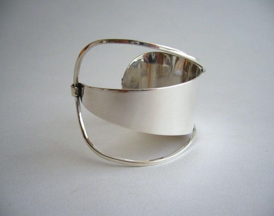 Paul Lobel Sterling Silver Cuff Bracelet 3