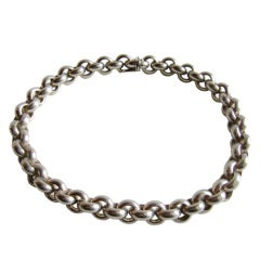 PALOMA PICASSO for TIFFANY & Co. Chain Link Necklace