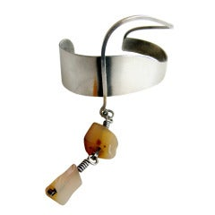 PAUL LOBEL Studio Sterling Agate Bracelet