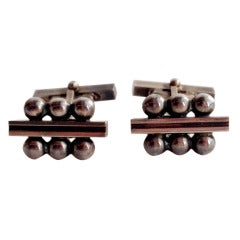 Harald Nielsen for Georg Jensen Sterling Silver Cufflinks