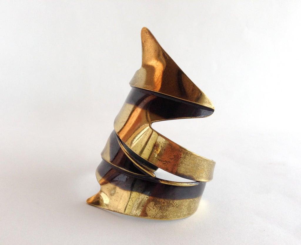 Art Smith Jewelry Art Smith Icicle Brass