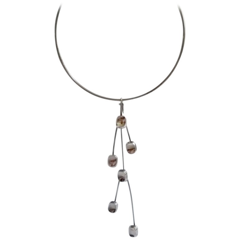 Bent Knudsen Sterling Silver Necklace