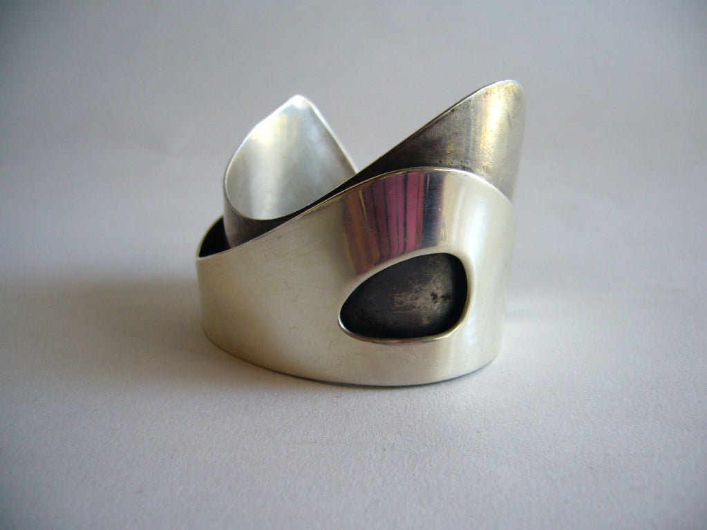 Rare Ed Wiener Sterling Silver Bracelet 2