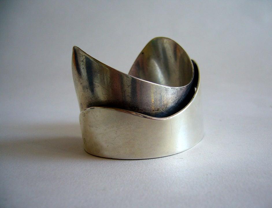 Rare Ed Wiener Sterling Silver Bracelet 3