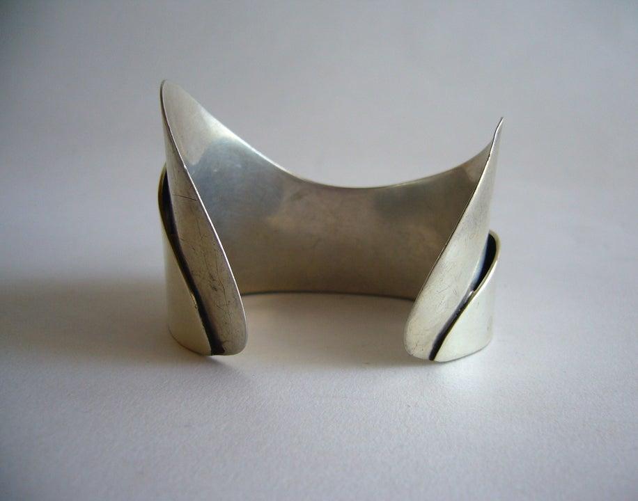 Rare Ed Wiener Sterling Silver Bracelet 4