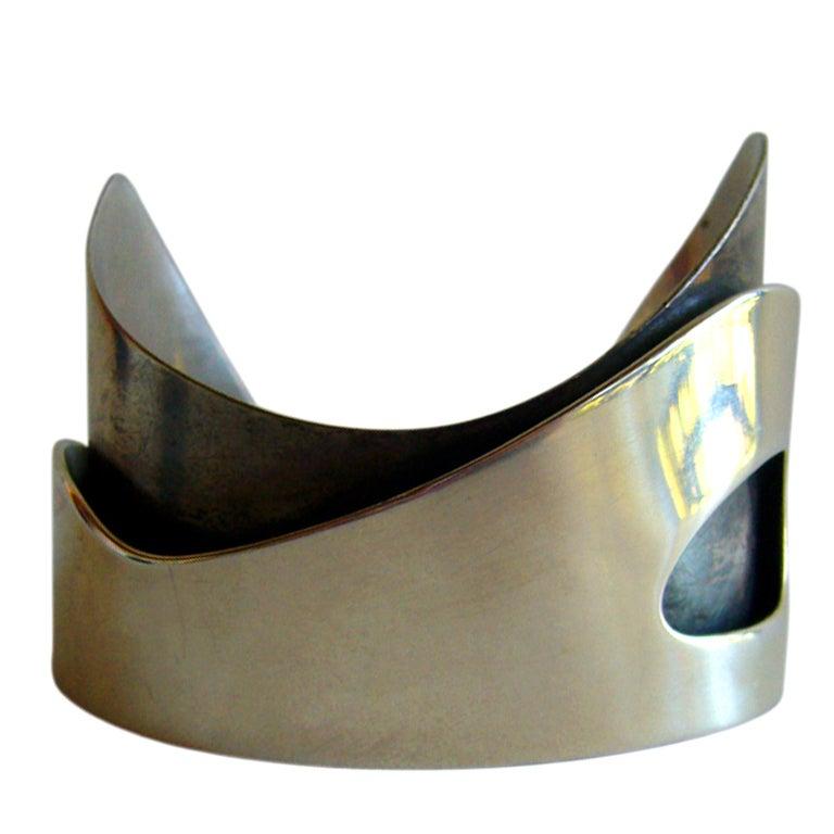 Rare Ed Wiener Sterling Silver Bracelet 1