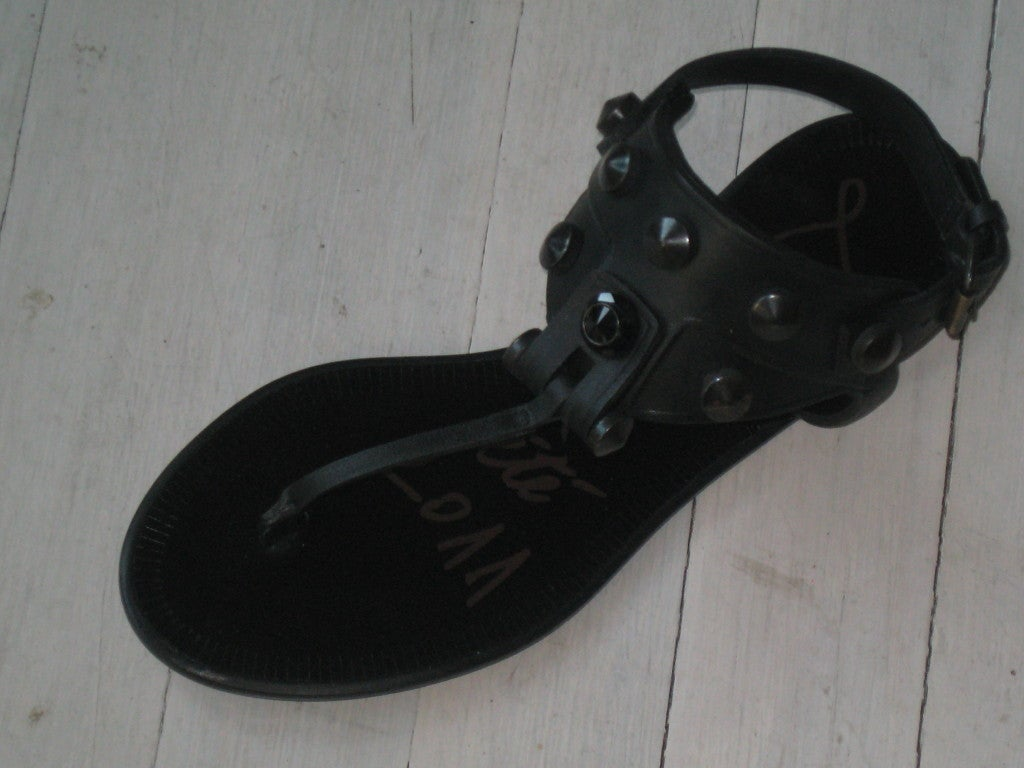 Signed and Dated 2011 Lanvin High Style New Sandals in Original Box and Dust Bag..sizes are shown bellow