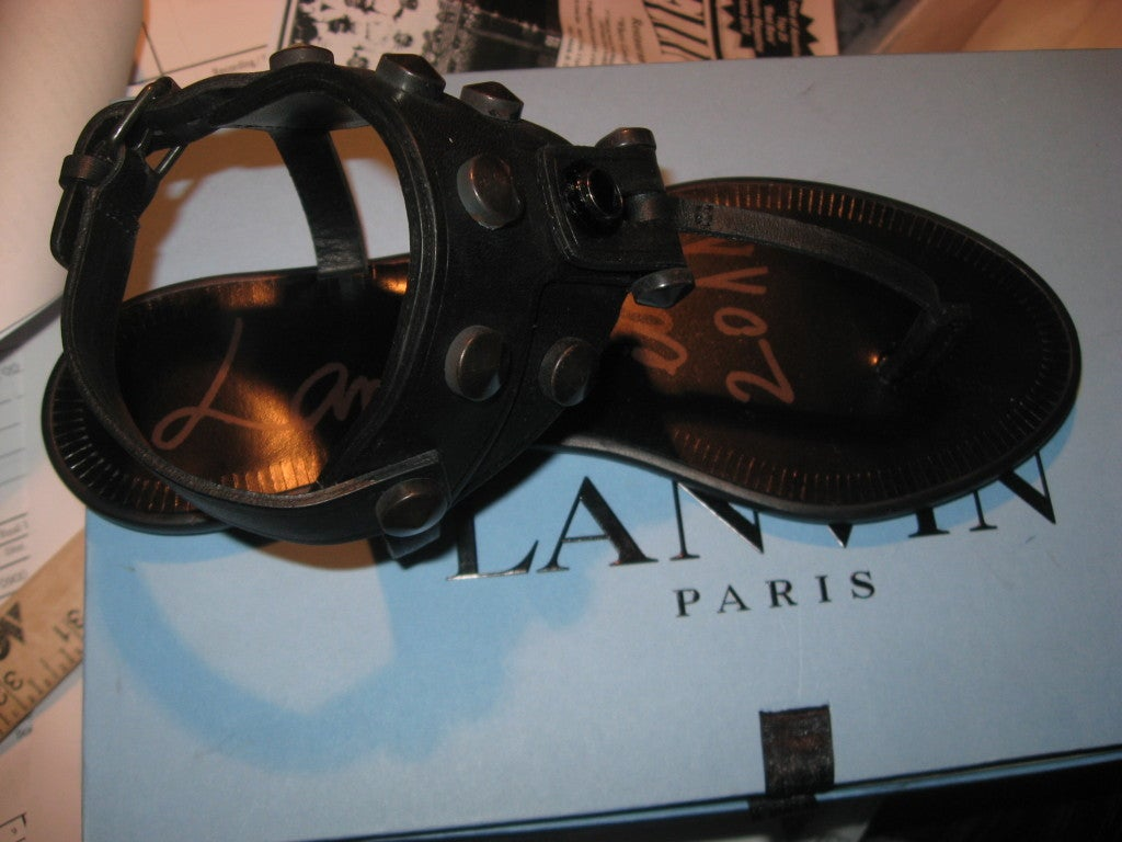 Lanvin High Style New Sandals, 2011  For Sale 2