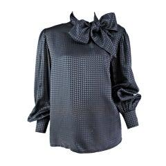 Guy Laroche bow tie blouse