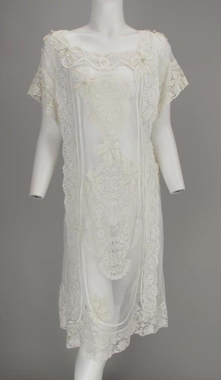 White lace dress, Nostalgia, Coconut Grove 1970s 2