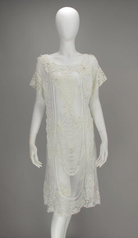 White lace dress, Nostalgia, Coconut Grove 1970s 3