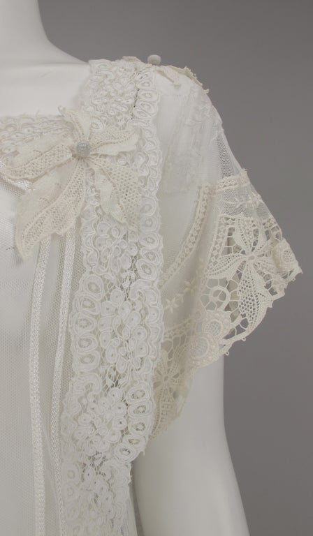 White lace dress, Nostalgia, Coconut Grove 1970s 4