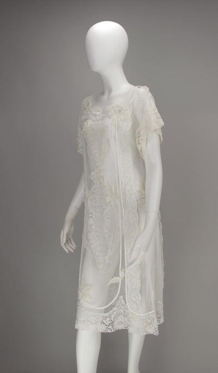 White lace dress, Nostalgia, Coconut Grove 1970s 5