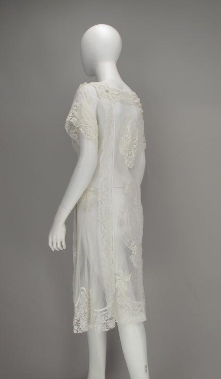 White lace dress, Nostalgia, Coconut Grove 1970s 6