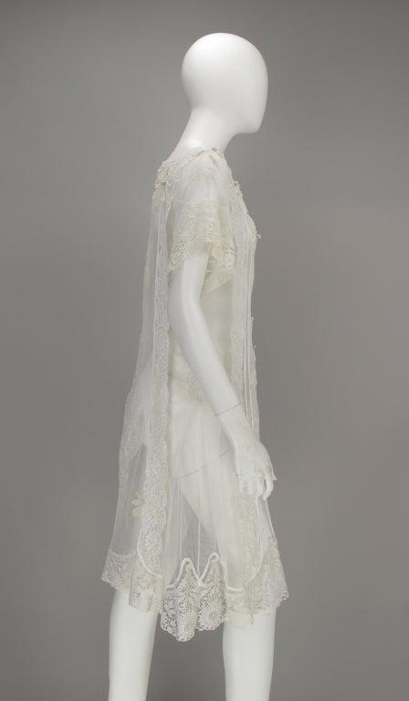 White lace dress, Nostalgia, Coconut Grove 1970s 8