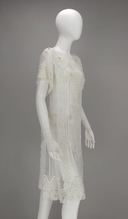 White lace dress, Nostalgia, Coconut Grove 1970s 9