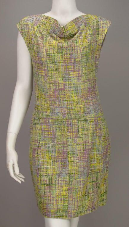 Chanel tweed day dress 2