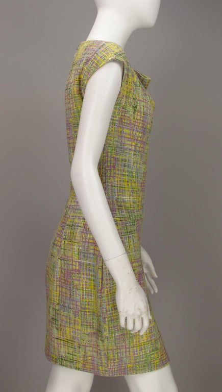Chanel tweed day dress 4