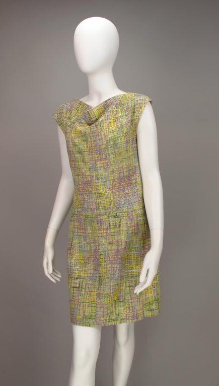 Chanel tweed day dress 5