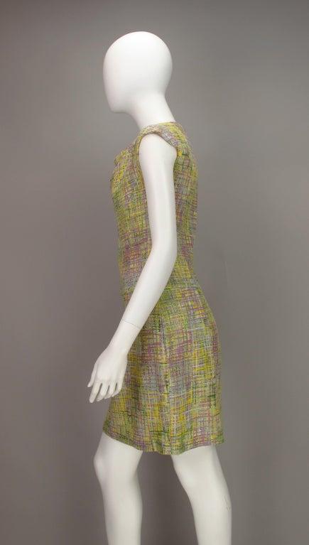 Chanel tweed day dress 6