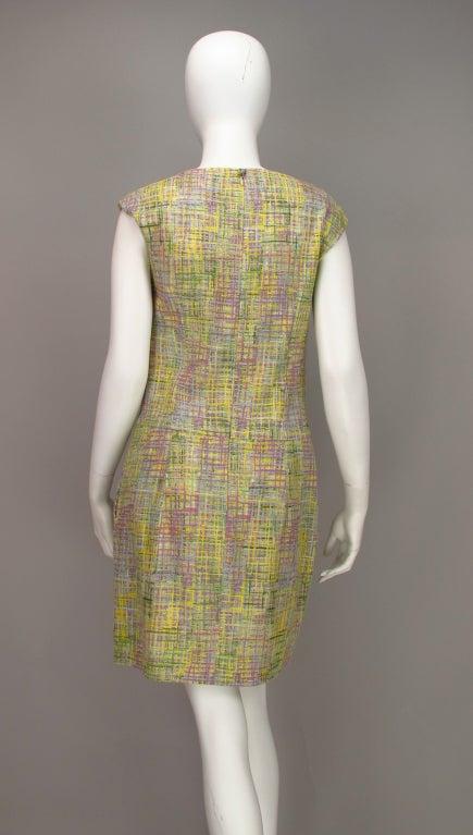 Chanel tweed day dress 7