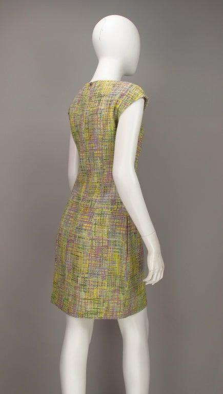 Chanel tweed day dress 8