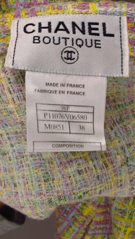 Chanel tweed day dress 10