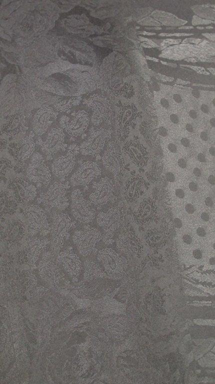 Gucci figured silk scarf wrap image 9