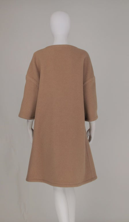 Double face wool/cashmere  reversible coat 1960s image 6